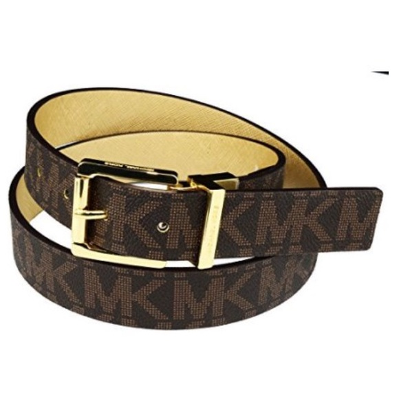 7ce08a621 Michael Kors Accessories | Reversible Signature Belt | Poshmark